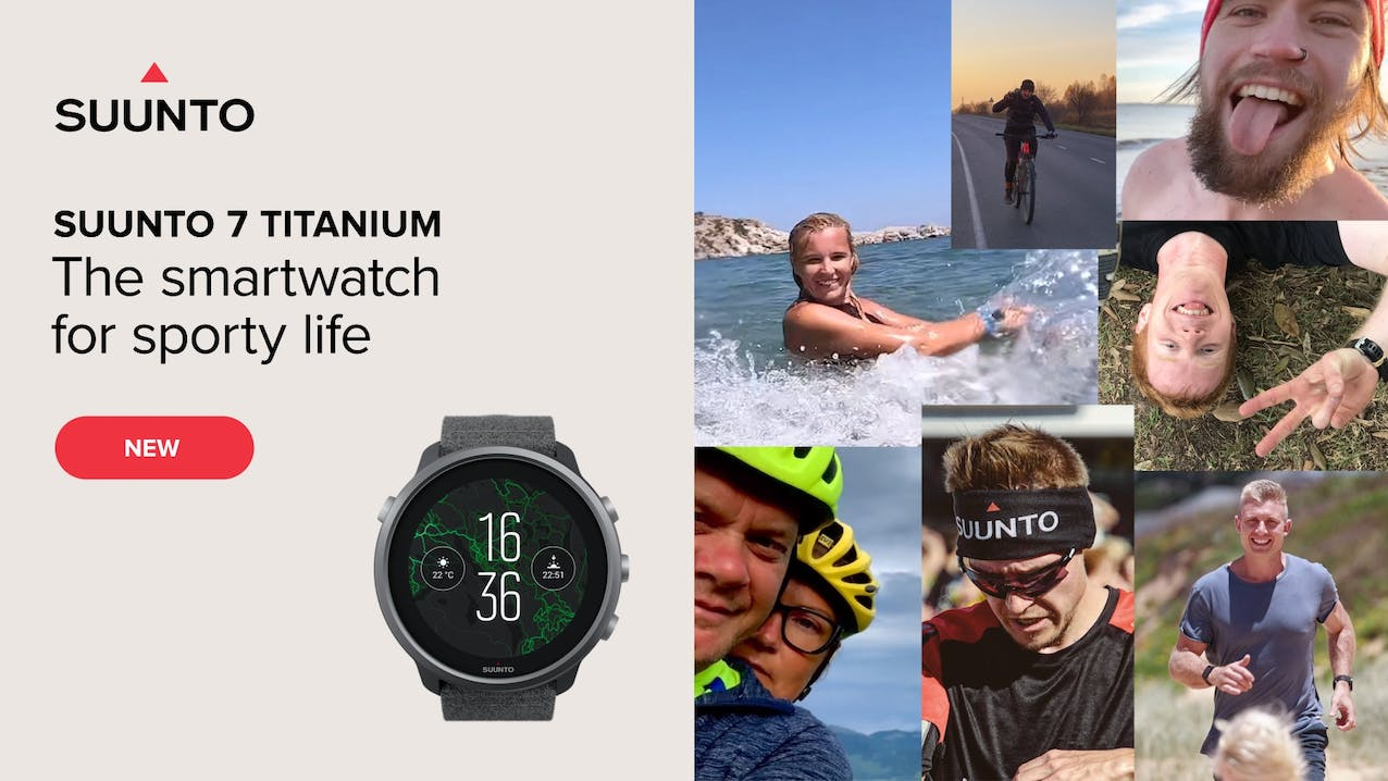 Suunto 7 Titanium - The smartwatch for sporty life