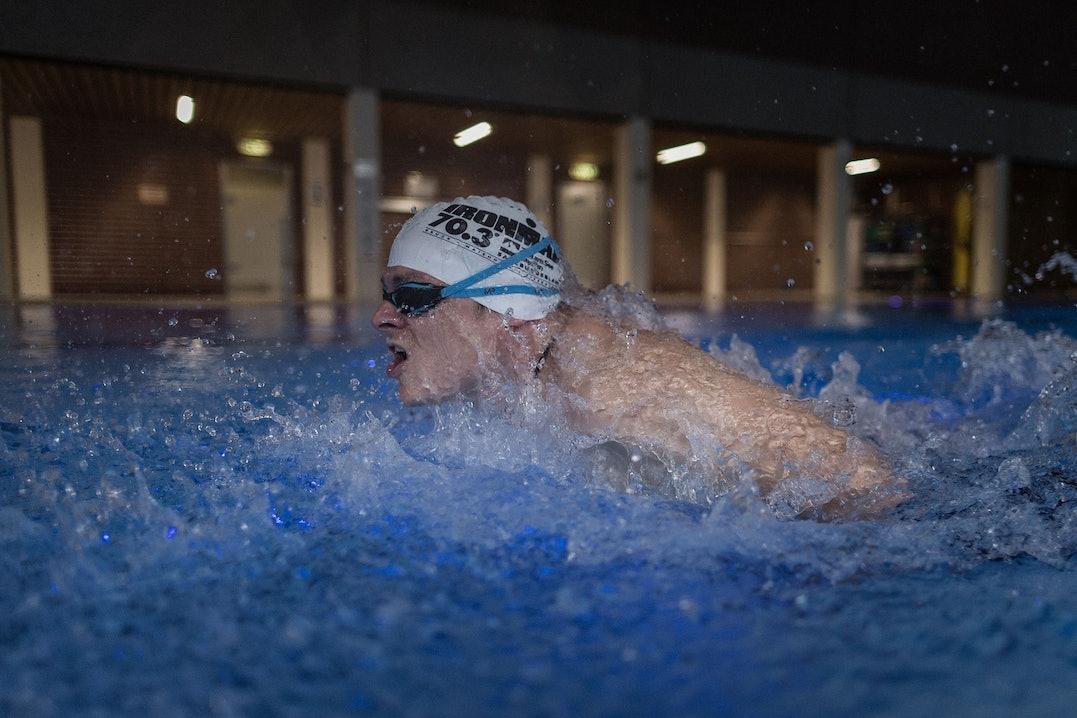 Triathlon-Training-Schwimmen