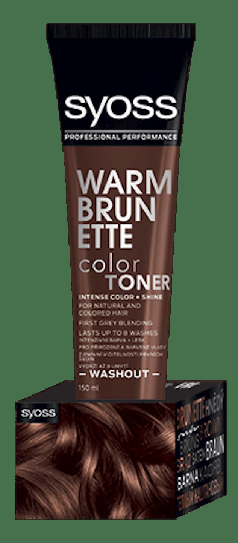 Color Toner Teplý hnědý shot pack