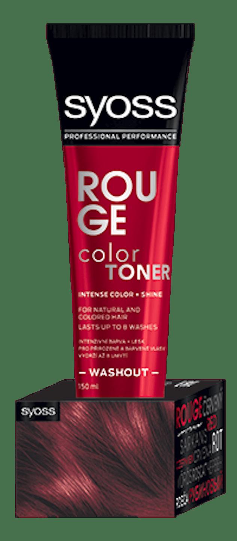 Color Toner Červený shot pack