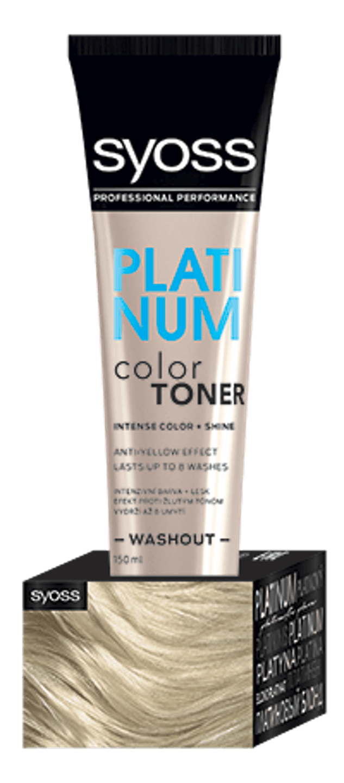 Color Toner Platinový shot pack
