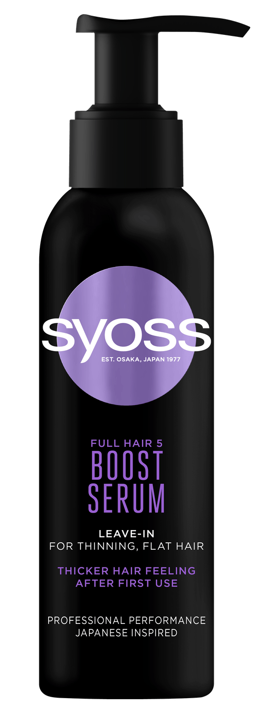Syoss Full Hair 5 Boost sérum shot pack