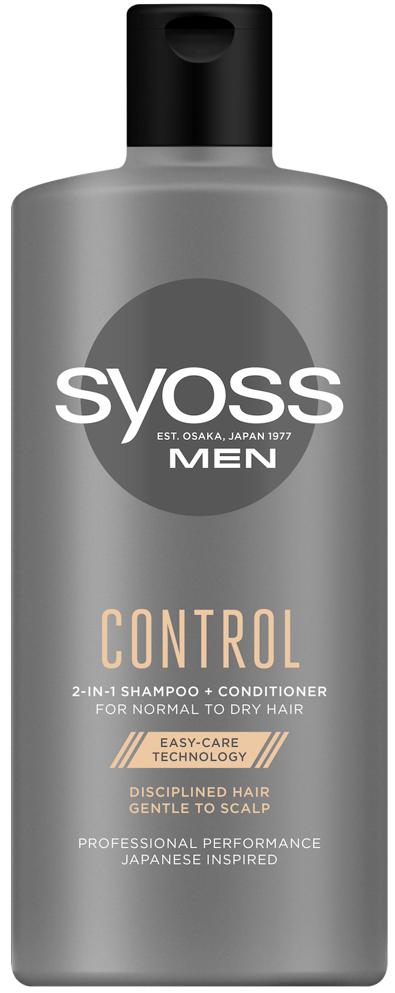 Syoss Men Control šampon shot pack