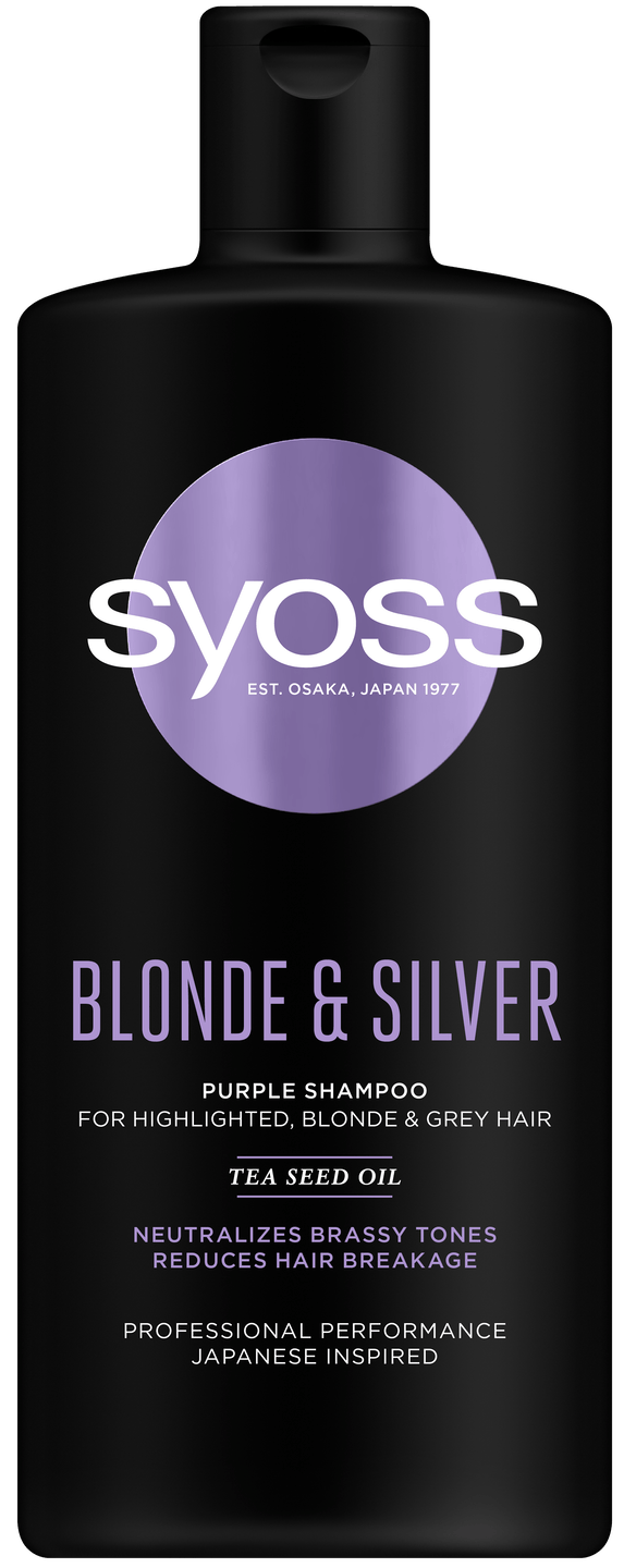 Syoss Blonde & Silver šampon shot pack