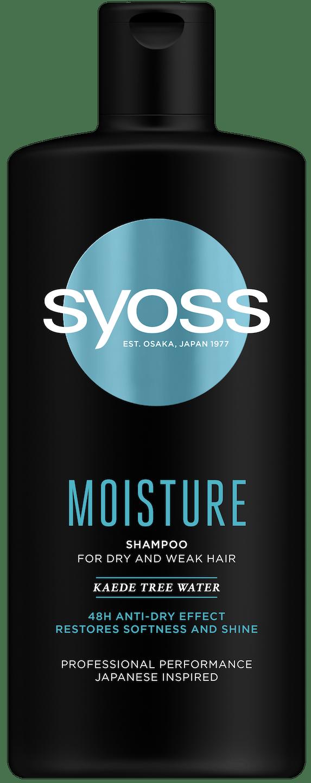 Syoss Moisture šampon shot pack