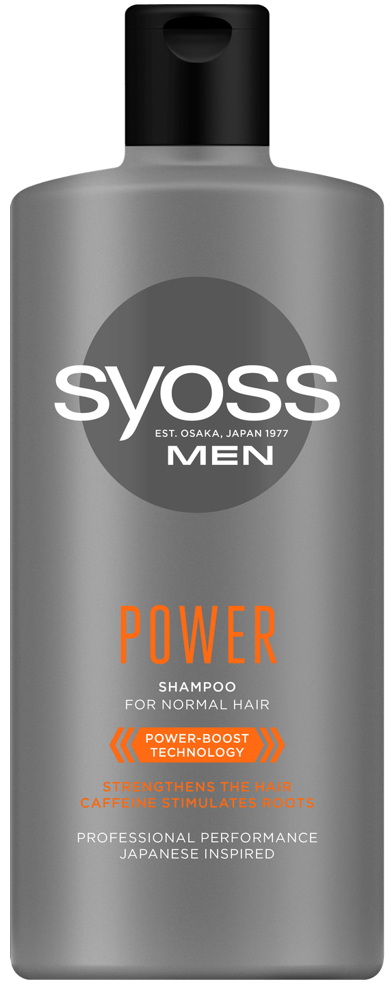 Syoss Men Power šampon shot pack