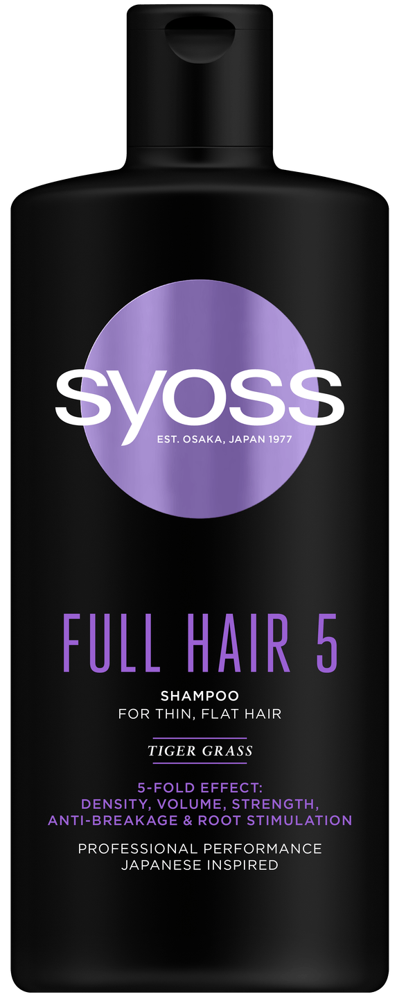 Syoss Full Hair 5 šampon shot pack