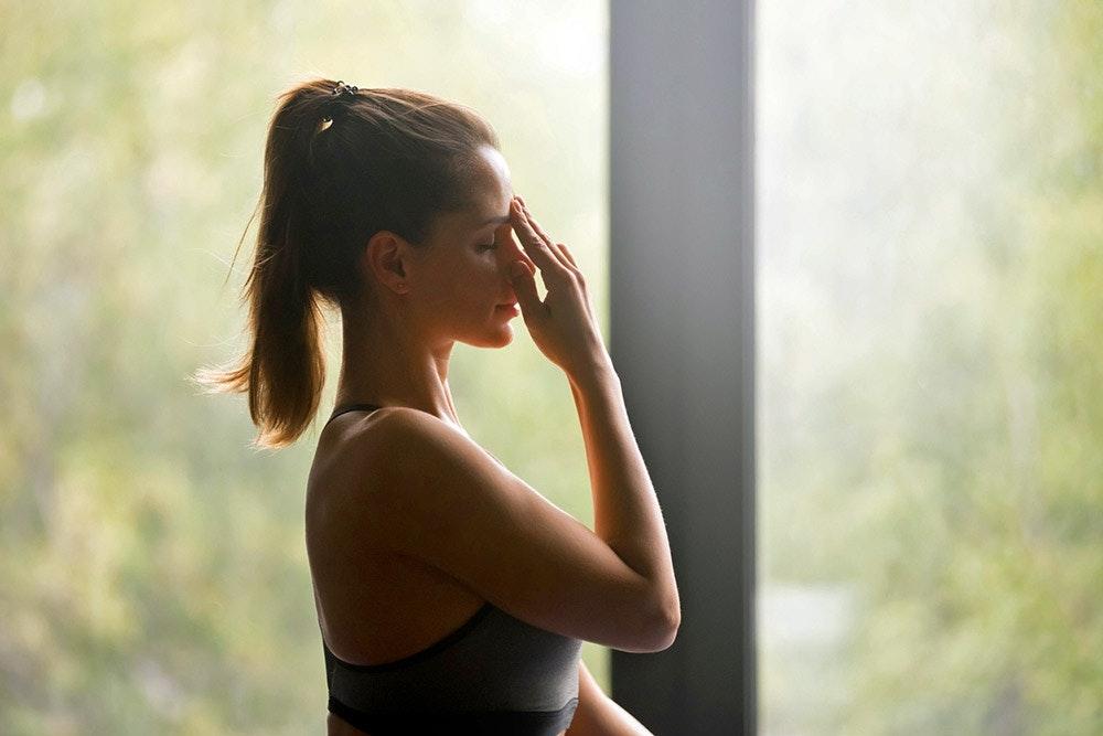 Yoga für ein starkes Immunsystem: Atemübung Nadishodana