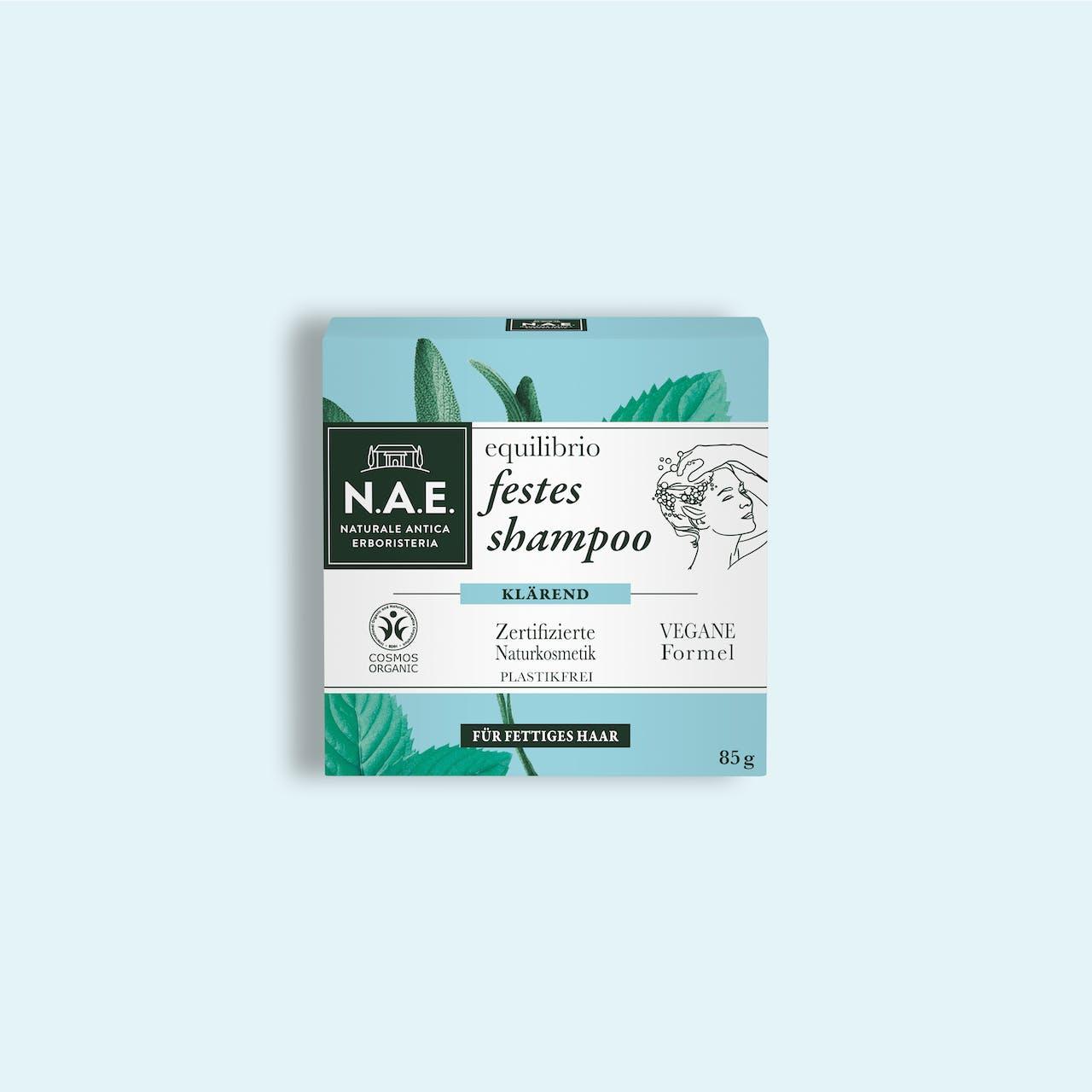 equilibrio klärendes festes shampoo, 85g