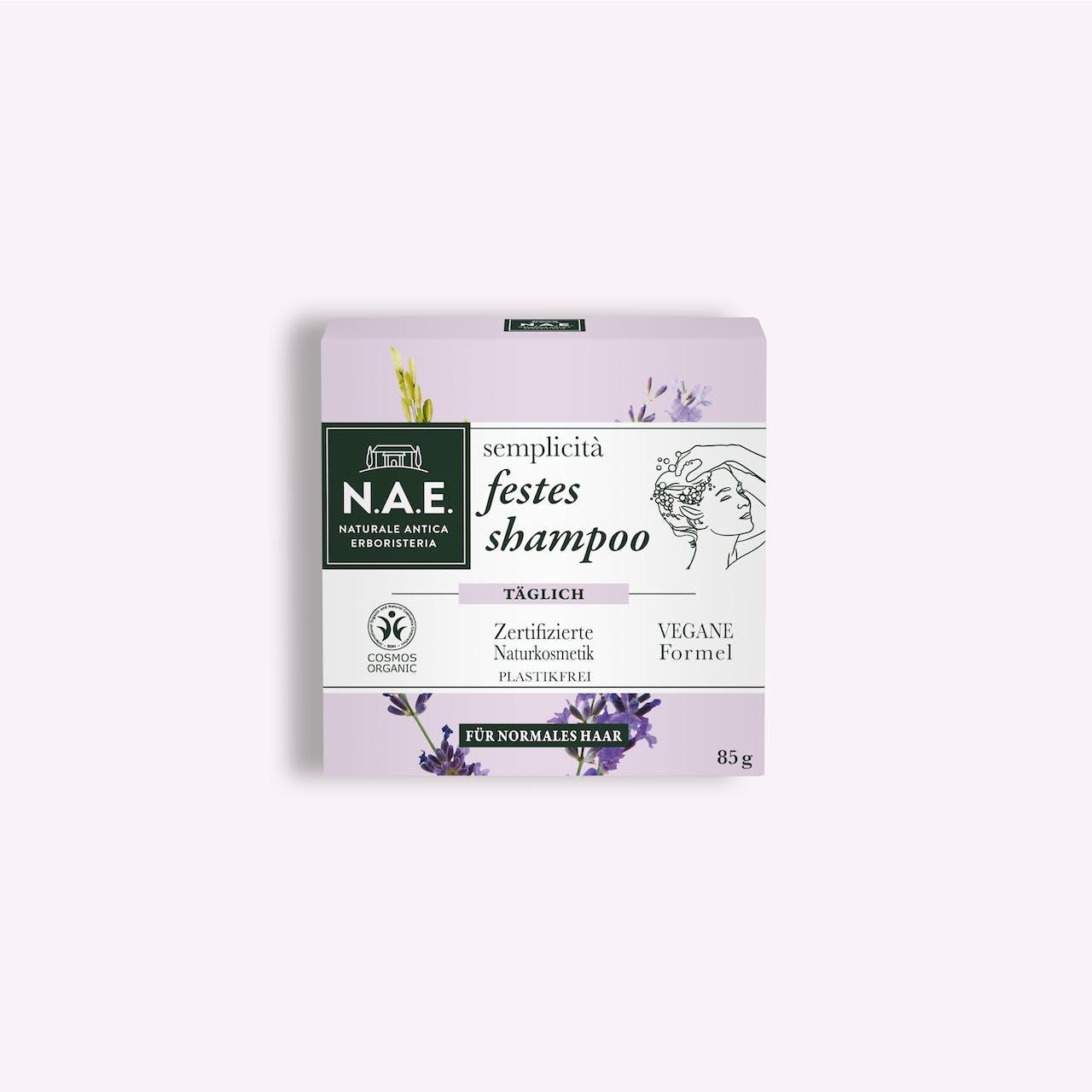 semplicità tägliches festes shampoo, 85g