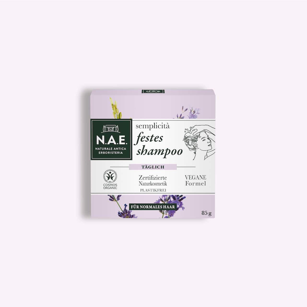 semplicità tägliches festes shampoo 85g