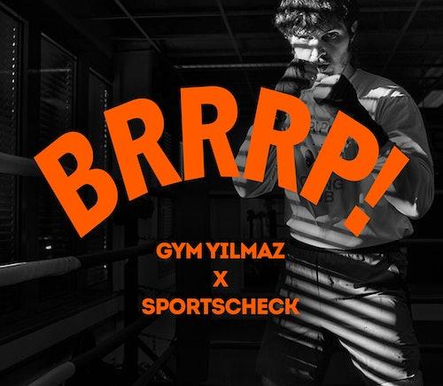 Gym Yilmaz bei SportScheck