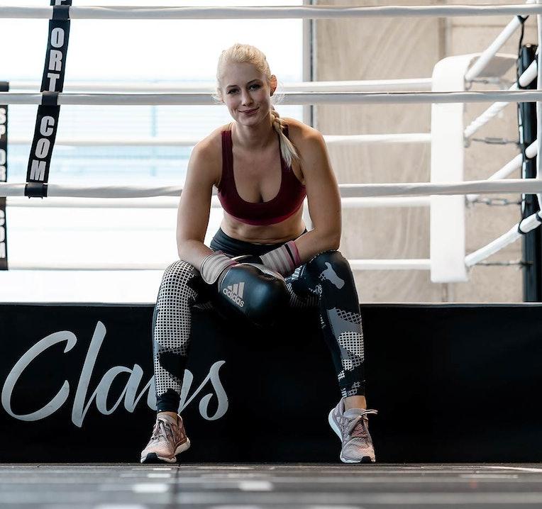 Ann-Kathrin testet Boxen als Workout