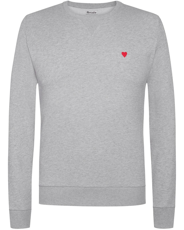 Brosbi, Sweatshirt, grey, Lodenfrey