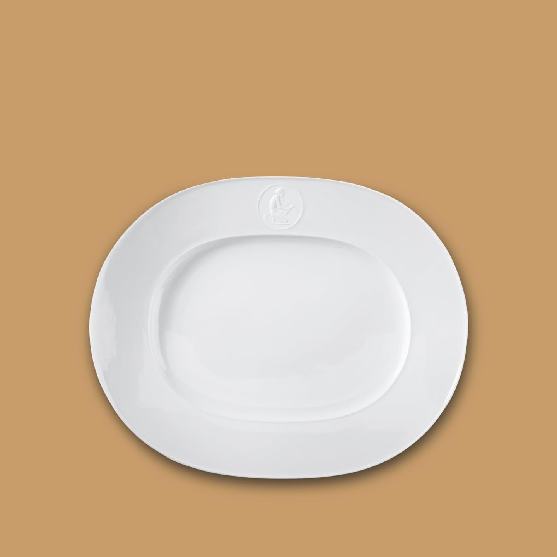 Platte oval, ARKADIA, klein