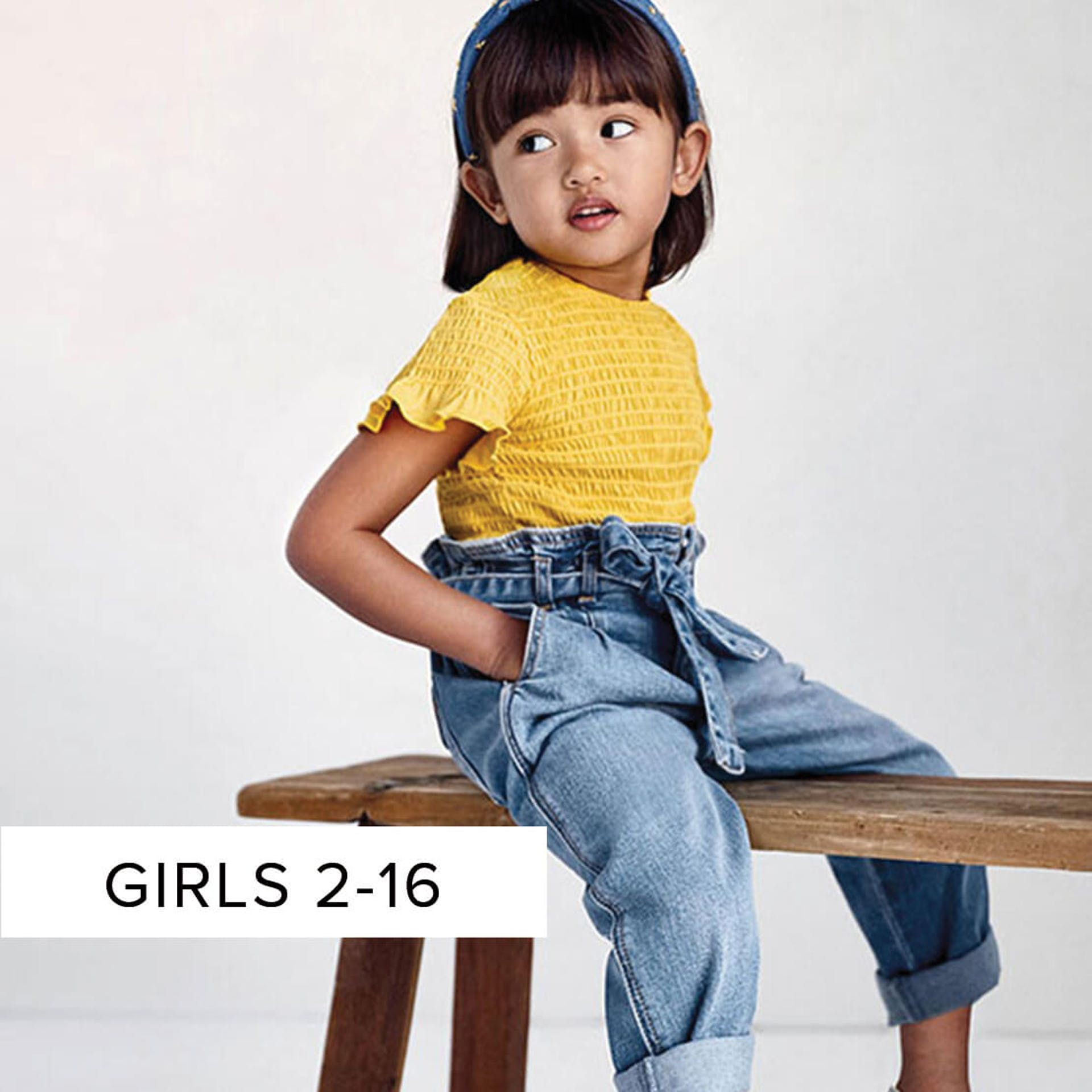 girls clothing aged 2 to 16 years of age
