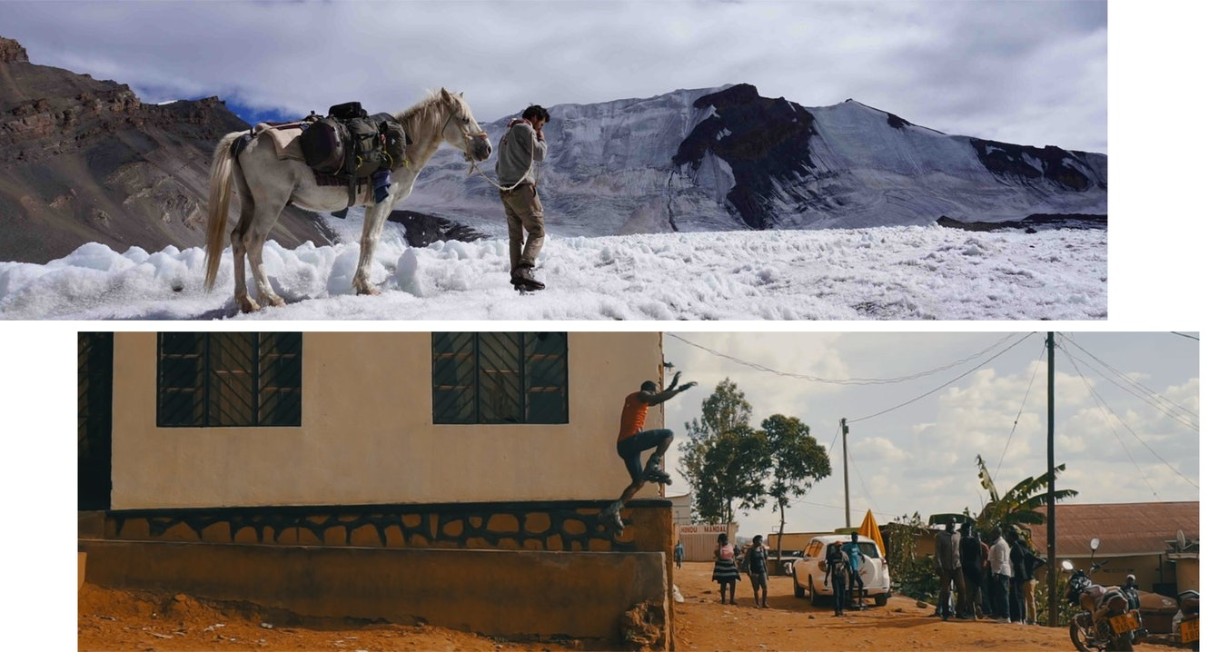 "European Outdoor Film Tour 19/20 ""Le Minimaliste: An Himalayan Adventure"" -- ""African Riding: Karim"""